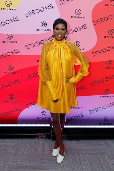 Tamron Hall attends 29Rooms: Expand Your Reality Chicago Tour opening night in Chicago, Illinois.   Photo: Getty Images