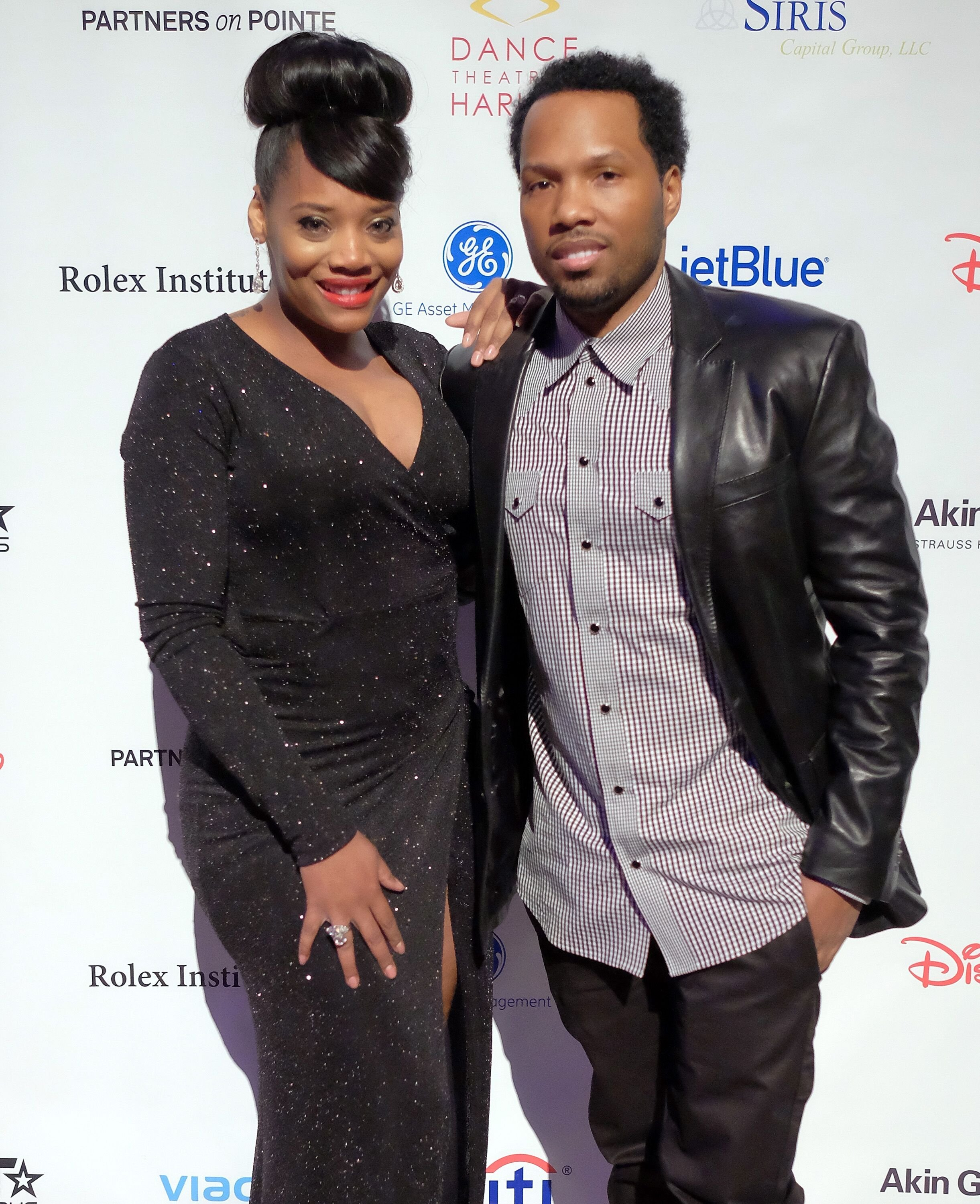 Yandy Smith and Mendeecees Harris at the 2015 Dance Theatre Of Harlem Vision Gala/ Source: Getty Images