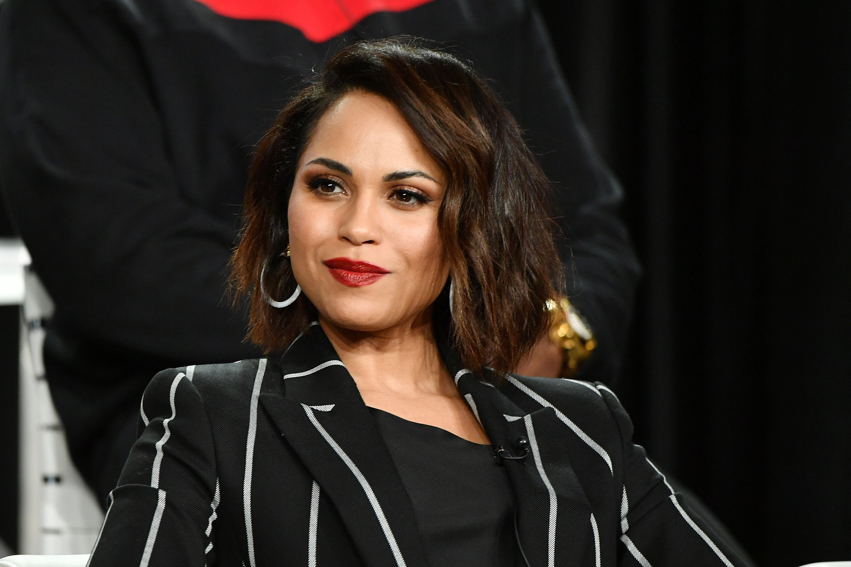 Monica Raymund on January 14, 2020 in Pasadena, California | Photo: Getty Images/Global Images Ukraine