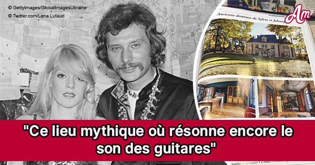 L'ancienne maison de Johnny Hallyday et Sylvie Vartan mise en vente (Photos)