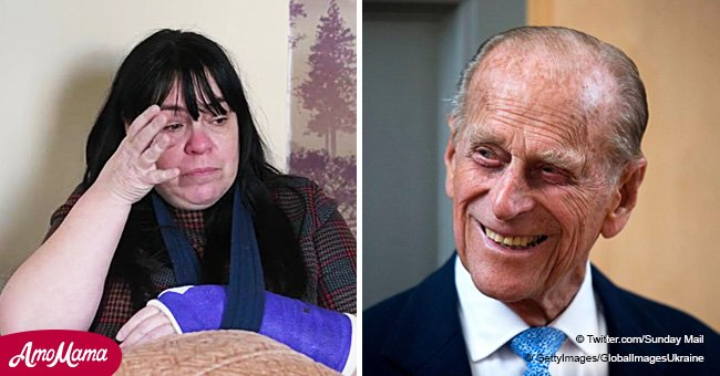 Crash Victim Puzzled: She Received a Weird 14-Word Message from Prince Philip and Queen Elizabeth