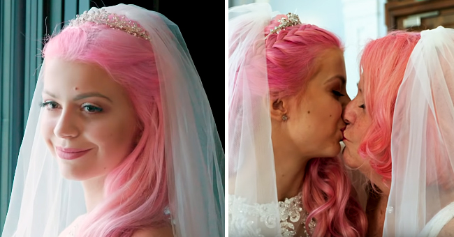24-Year-Old Woman Ties the Knot with Her 61-Year-Old Girlfriend