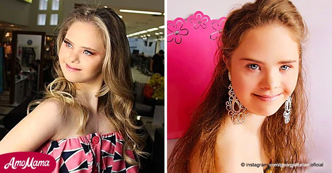 Girl with Down syndrome has become an inspiration for thousands after becoming a model