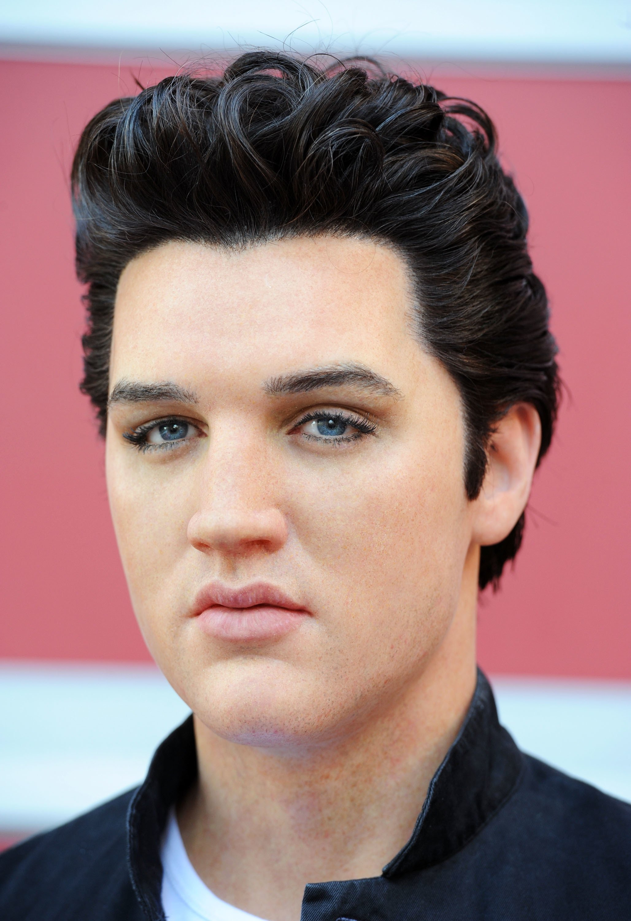 Madame Tussauds Hollywood unveils its first-ever Elvis Presley wax figure. | Source: Getty Images