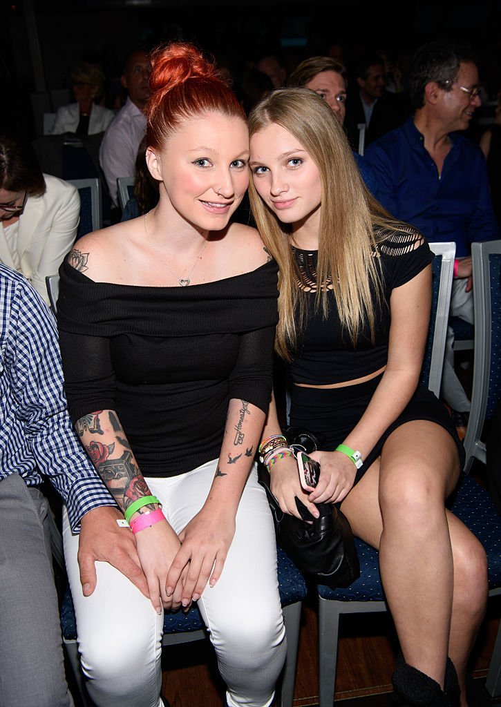 Chelsea Belle O'Donnell and Vivienne Rose O'Donnell attend Fran Drescher's 2016 Cabaret Cruise | Getty Images