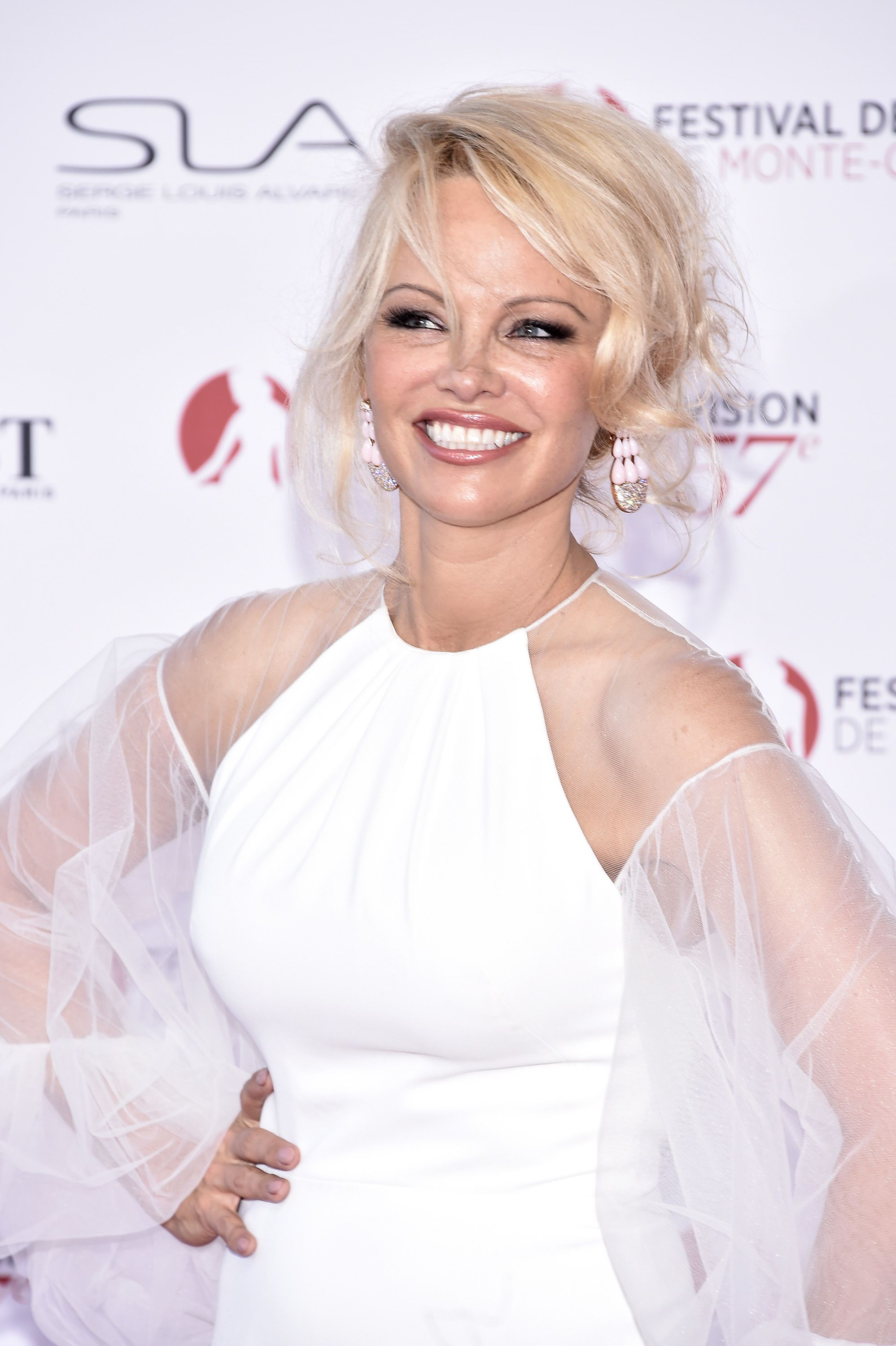 Pamela Anderson attends the 57th Monte Carlo TV Festival Opening Ceremony. | Source: Getty Images