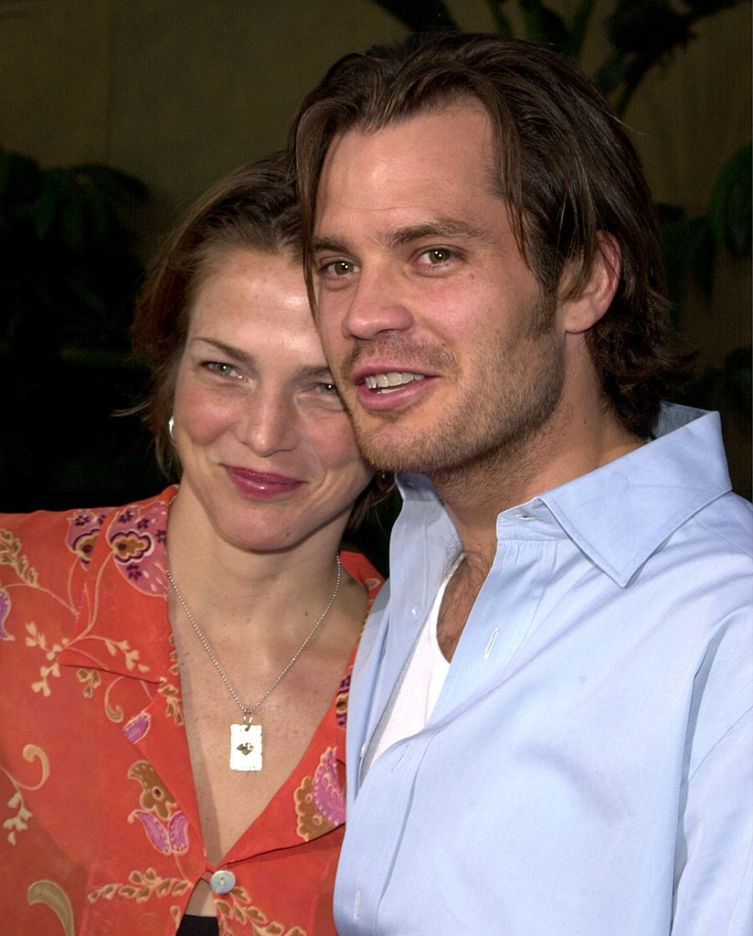 """Timothy Olyphant and Alexis at the premiere of the movie """"The Broken Hearts Club"""" July 17, 2000 in Hollywood, CA   Photo: Getty Images"""