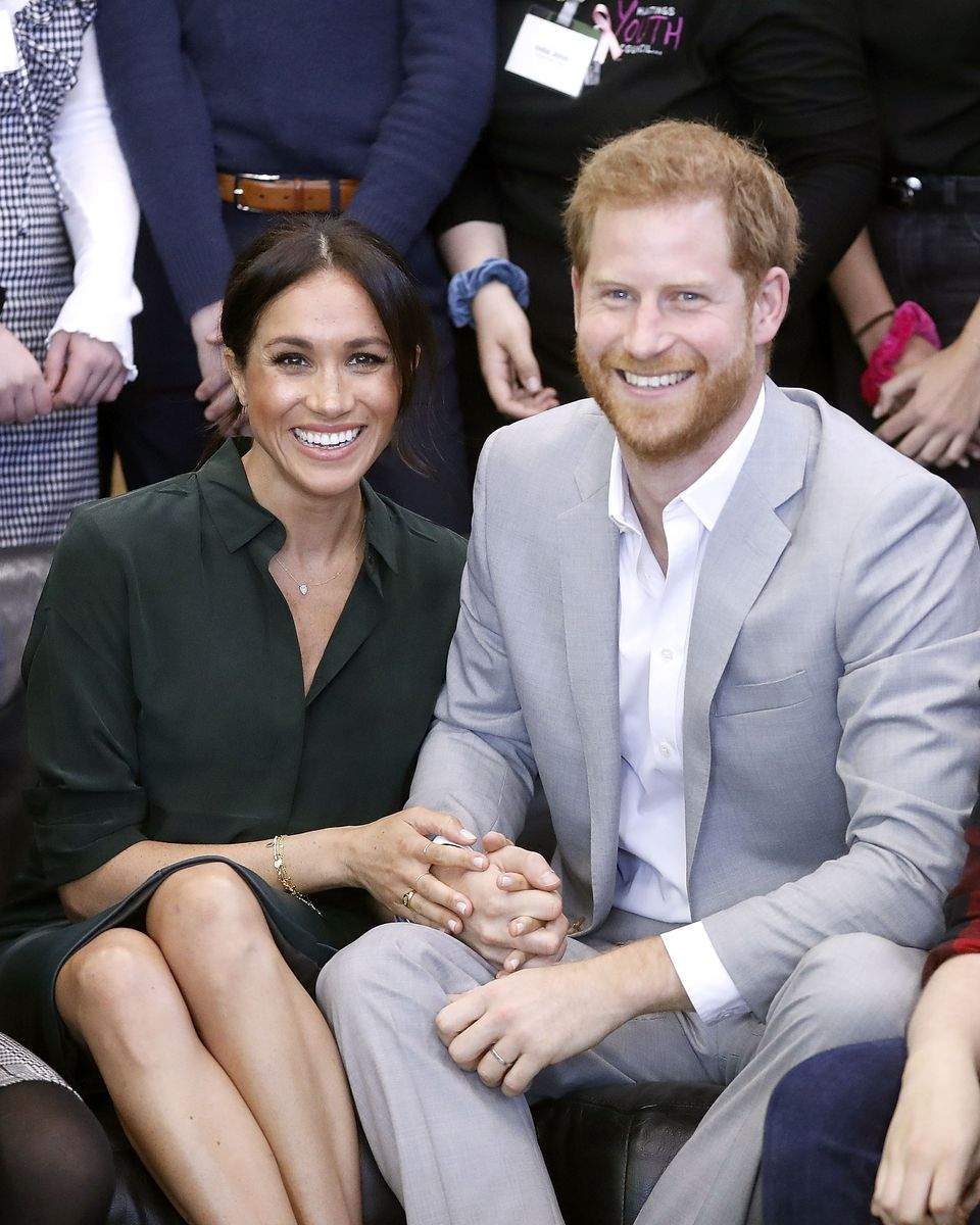 Meghan Markle and Prince Harry at the Joff Youth Centre in Peacehaven, Sussex on October 3, 2018 in Peacehaven, United Kingdom | Photo: Getty Images
