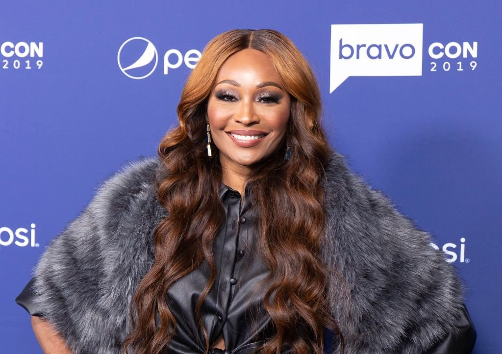 """""""RHOA"""" star Cynthia Bailey attends the 2019 BravoCon opening event in New York City. 