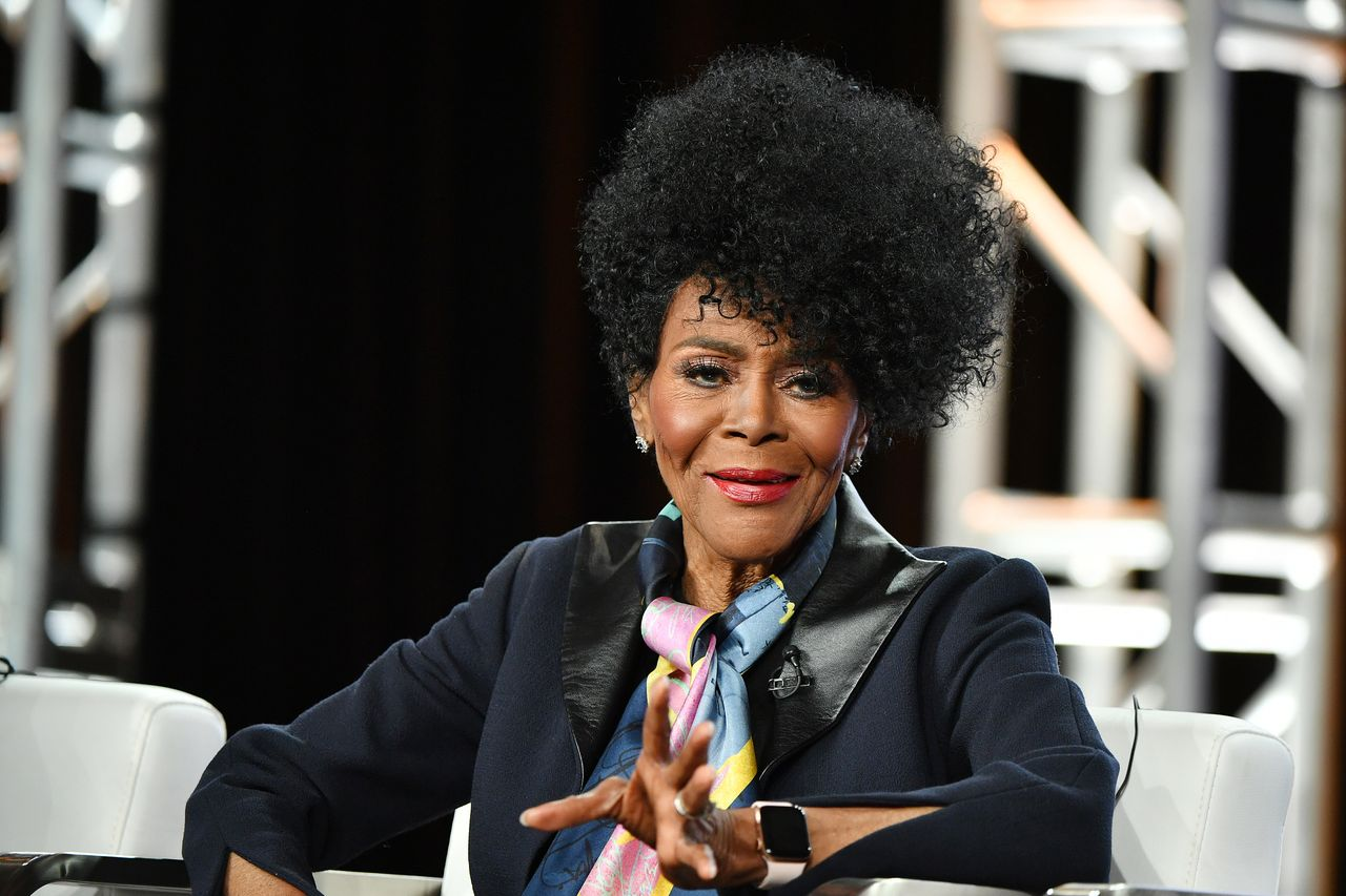 Late Cicely Tyson during the OWN segment of the 2020 Winter TCA Press Tour at The Langham Huntington, Pasadena on January 16, 2020 in Pasadena, California | Photo: Getty Images