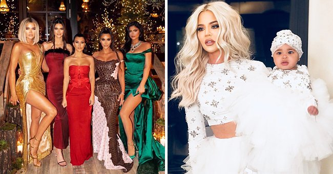Look through the Kardashian Family's Awesome Outfits at Christmas Parties from Previous Years