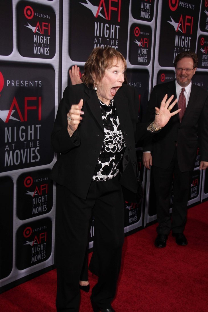 Shirly MacLaine at AFI's Night At The Movies. Image credit: Shutterstock