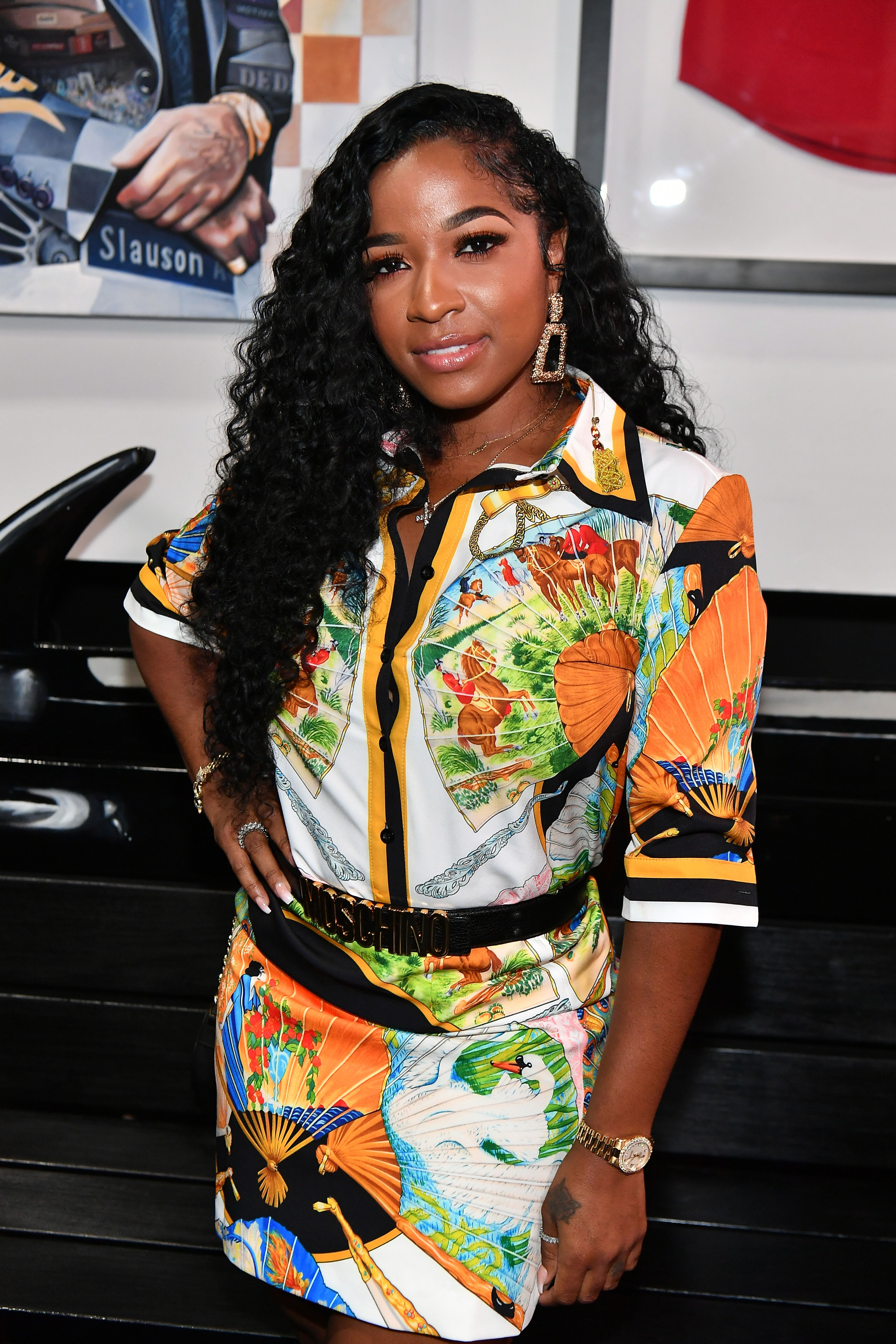 Toya Wright attends the Nipsey Hussle Exhibit Unveiling at The Trap Music Museum on August 13, 2019 in Atlanta, Georgia.   Source: Getty Images