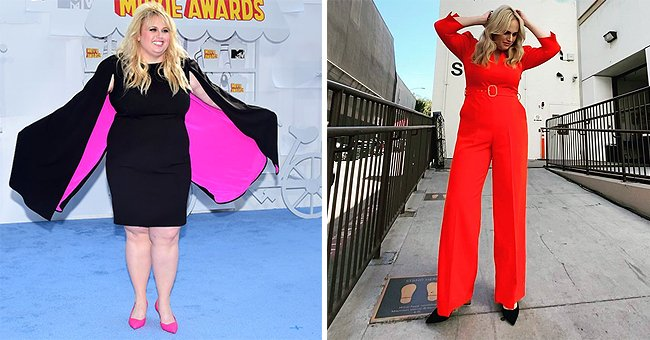 Rebel Wilson Shows off Tiny Waist in Gorgeous Red Jumpsuit after Dramatic Weight Loss