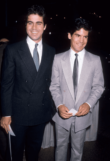 Actor Matthew Laborteaux and brother actor Patrick Labyorteaux attend Michael Landon's Second Annual Celebrity Gala to Benefit the National Down Syndrome Congress on October 15, 1988 | Source: Getty Images