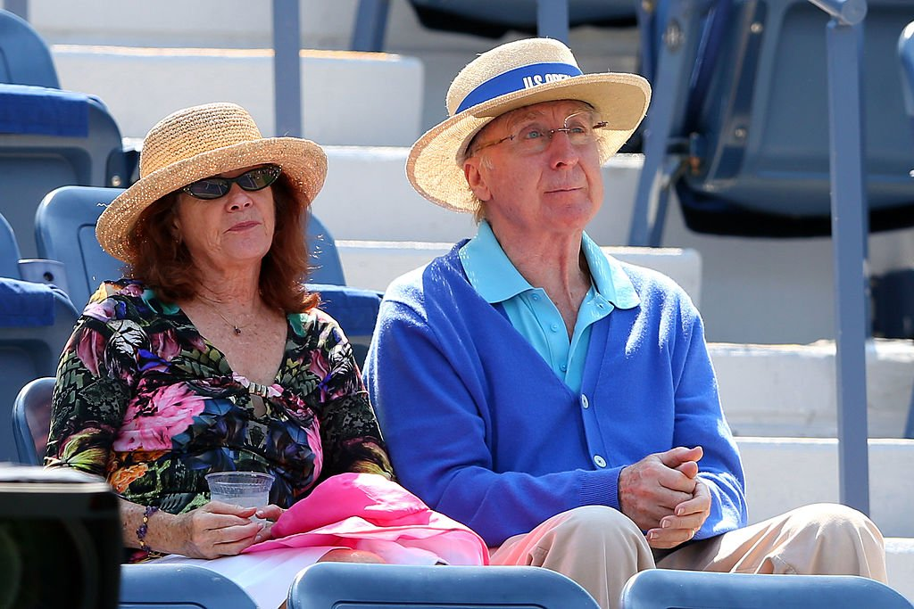 Gene Wilder and Karen Boyer attend Day Five of the 2012 US Open at USTA Billie Jean King National Tennis Center | Photo: Getty Images