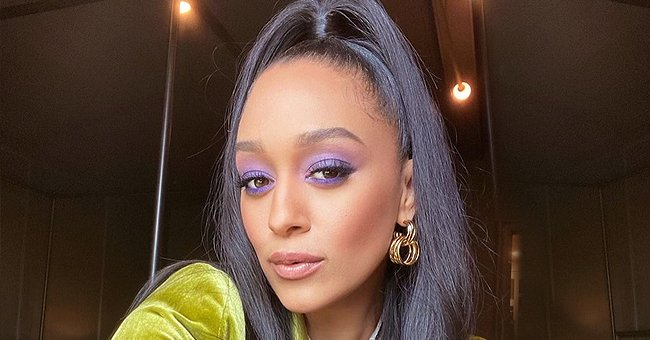 'Sister, Sister' Star Tia Mowry Looks Beautiful Posing with Awesome Makeup & a High Ponytail