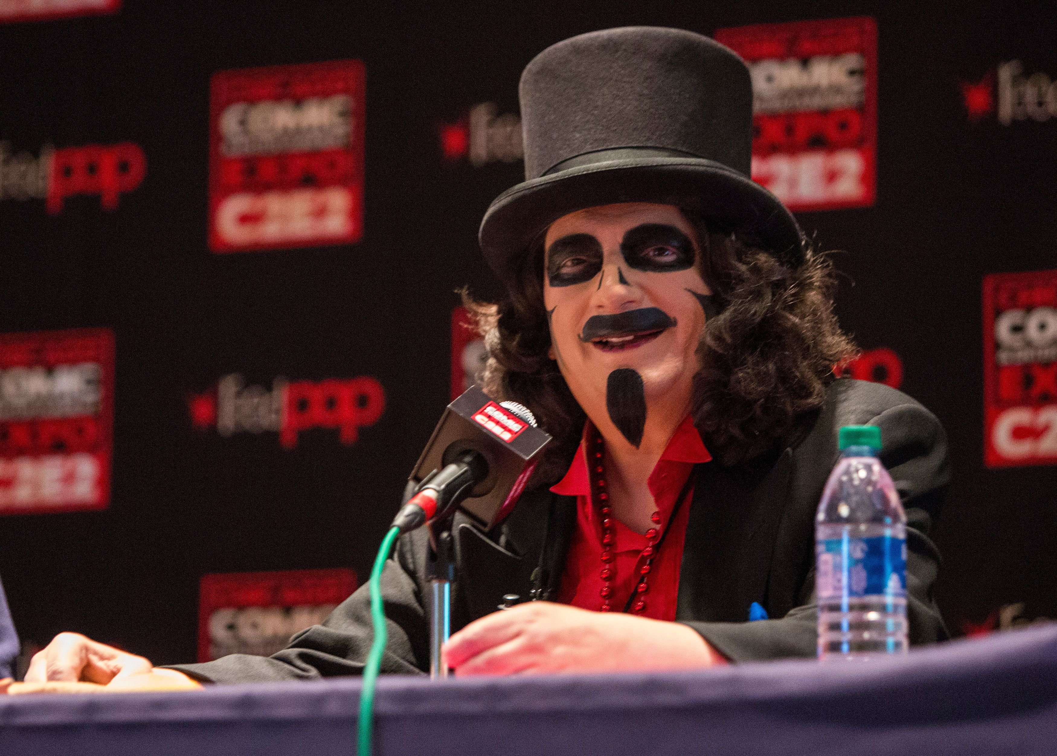 """Rich Koz of """"Son of Svengoolie"""" during the C2E2 on February 29, 2020 in Chicago, Illinois. 