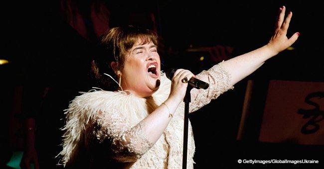 57-jährige Susan Boyle spricht über ihren Zusammenbruch, der ihre Karriere fast beendete