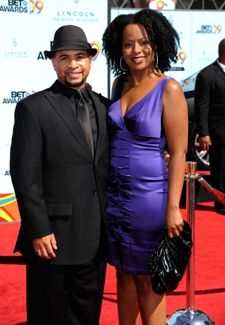 "Tempestt Bledsoe a.k.a. ""Vanessa"" and Darryl Bell at the BET awards 