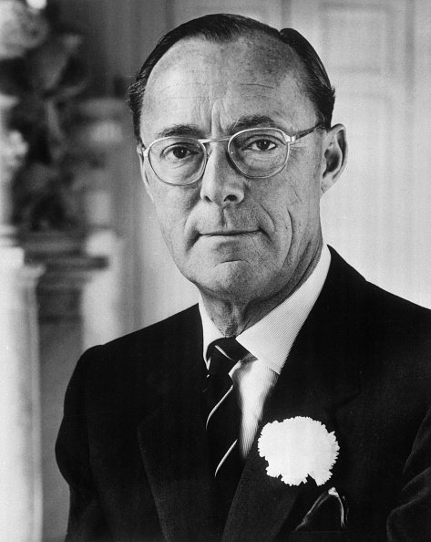 Prince Bernhard of the Netherlands in his official birthday portrait. Image created on June 29, 1967. | Photo: Getty Images