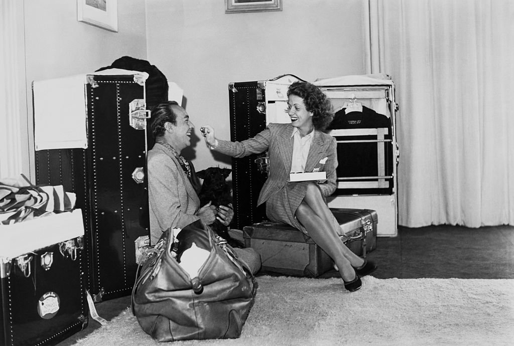 Danielle Darrieux et son mari Henri Decoin I photo: Getty Images