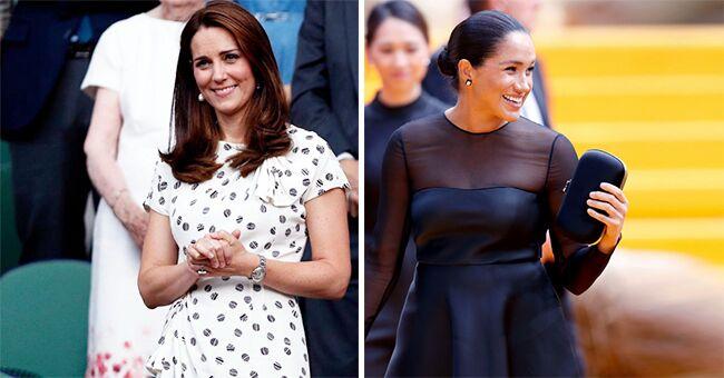 Différences entre Kate Middleton et Meghan Markle après l'accouchement
