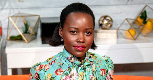 'Black Panther' Star Lupita Nyong'o Shows Her Gorgeous Profile Gazing Longingly at a Sunset