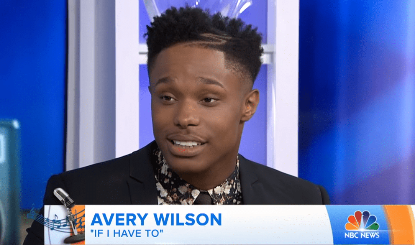 Avery Wilson Shares his Musical Inspiration in an interview with TODAY. | YouTube/Today