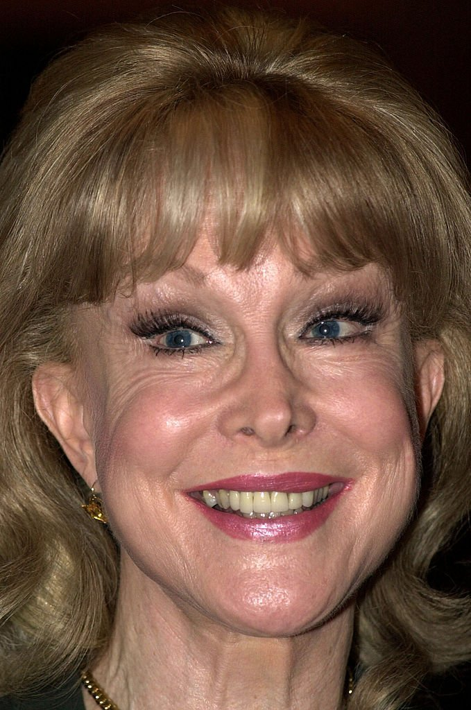 Actress Barbara Eden attends the premiere of the PRISM Awards show July 16, 2002 in Washington, DC. The Entertainment Industries Council presents PRISM Awards | Getty Images
