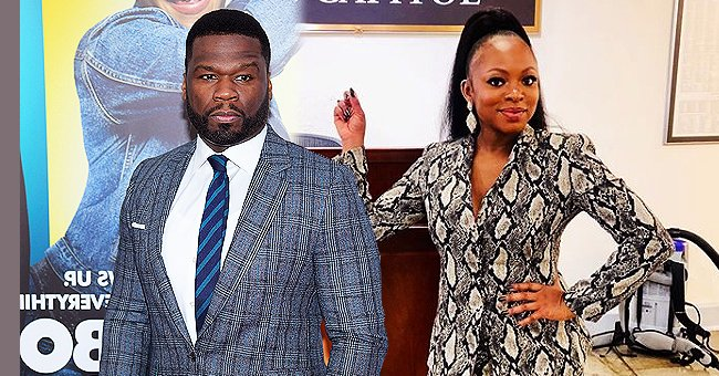 50 Cent Claims He Wasn't Trolling Naturi Naughton but Defending Her after Tweet about His Co-Star's Hairline