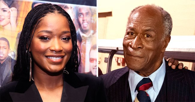 Keke Palmer from 'Hustlers' Shares Iconic Selfie with 'Good Times' Star John Amos after Airport Run-In