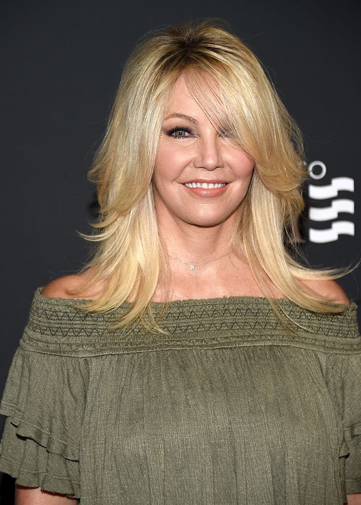 """Actress Heather Locklear attends TLC """"Too Close To Home"""" Screening 