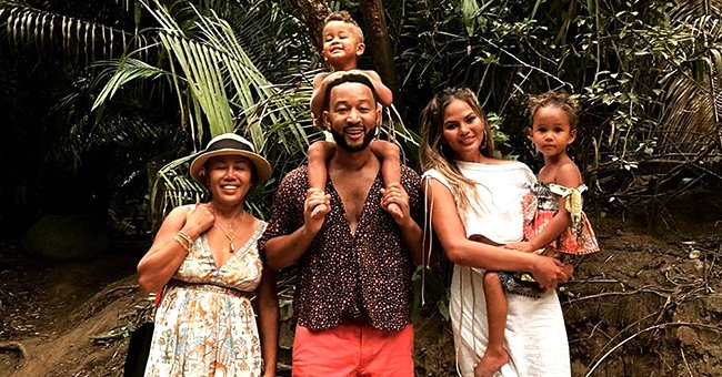 Check Out John Legend and Chrissy Teigen's Adorable Family Pic While on Summer Vacation