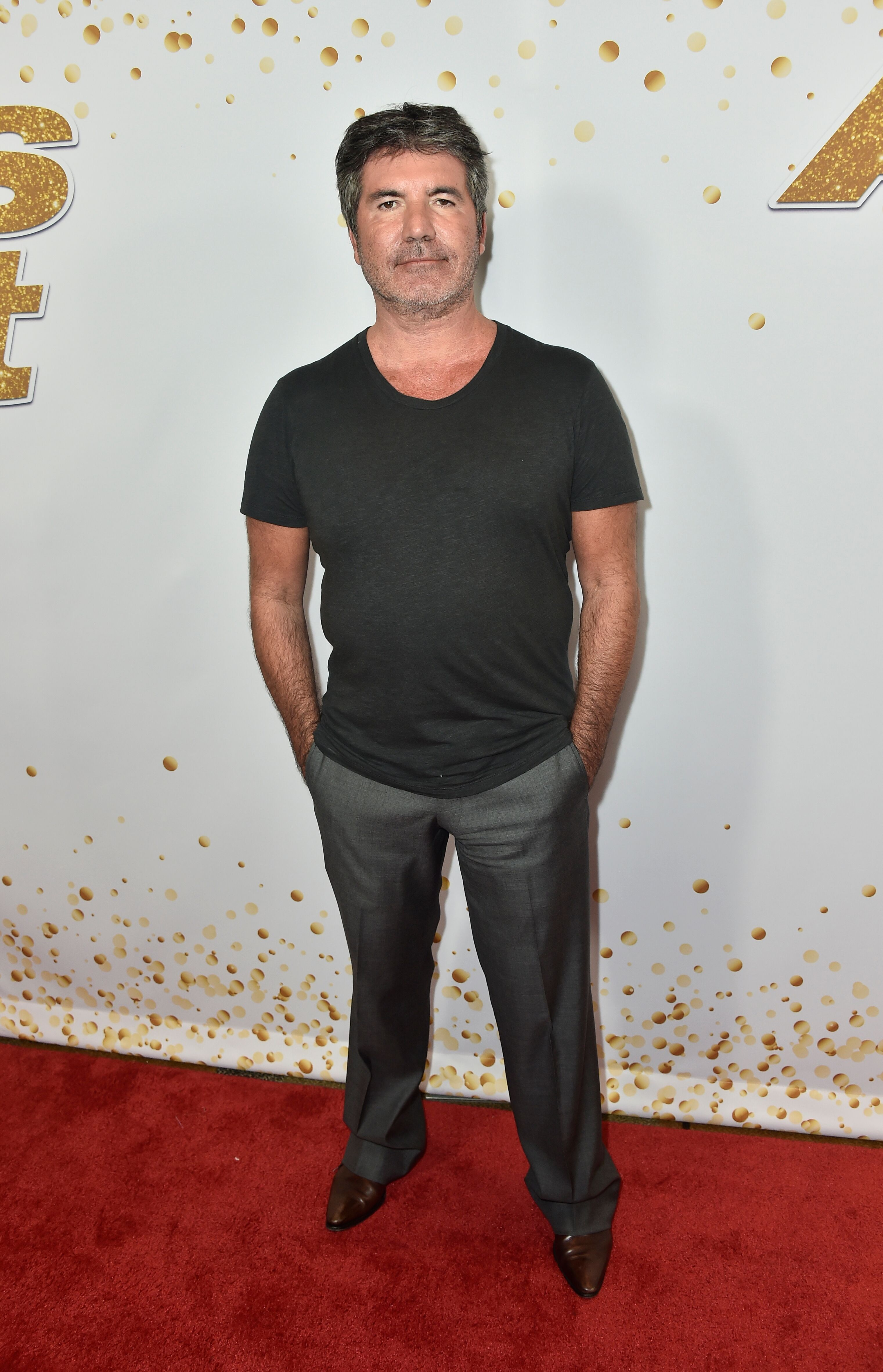 """Simon Cowell attends """"America's Got Talent"""" Season 13 Live Show Red Carpet 