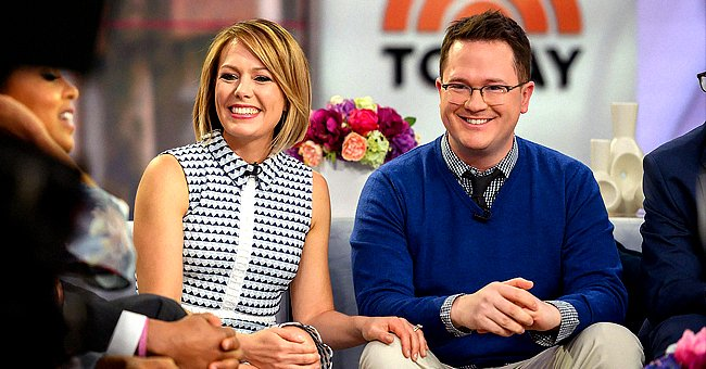 """Dylan Dreyer and husband Brian Fichera on season 68 of the """"Today"""" showonApril 22, 2019 