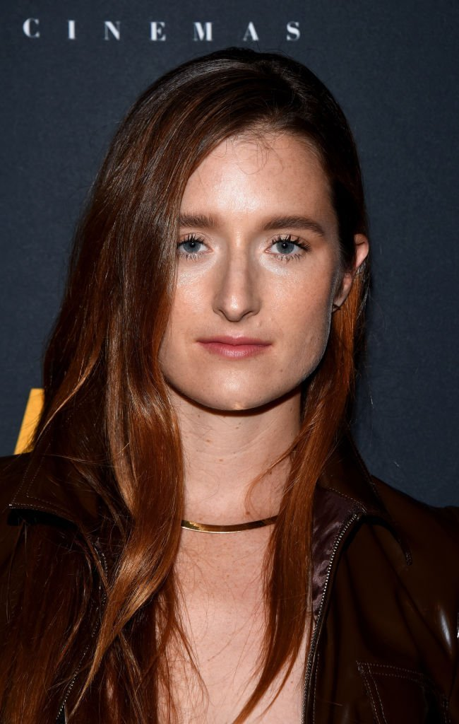 "Grace Gummer attends the screening of ""The Long Dumb Road."" 