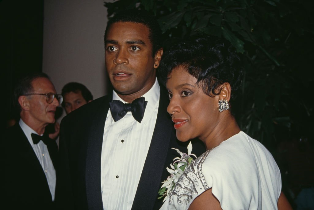 Ahmad Rashad and Phylicia Rashad attend the 'Carousel Of Hope Ball Benefit', held at the Beverly Hilton Hotel on October 2, 1992.   Photo: Getty Images