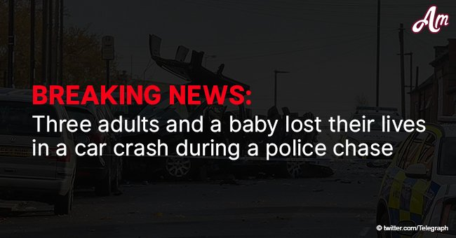 Three adults and a baby lost their lives in a car crash during a police chase