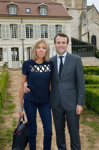 La photo de Brigitte et Emmanuel Macron | Source: Getty Images / Global Ukraine