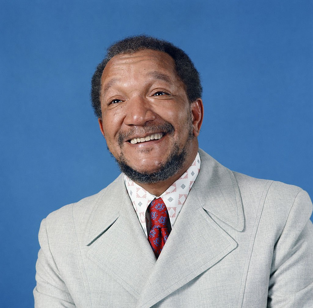 "Redd Foxx as Fred G. Sanford in the movie ""Stanford and Son"" circus 1900. 