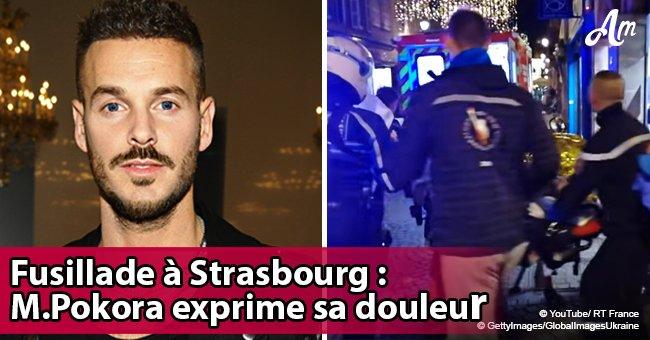 La douleur particulière de M Pokora sur les fusillades à Strasbourg