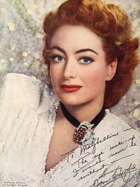 Joan Crawford. I Image : Wikimedia Commons.