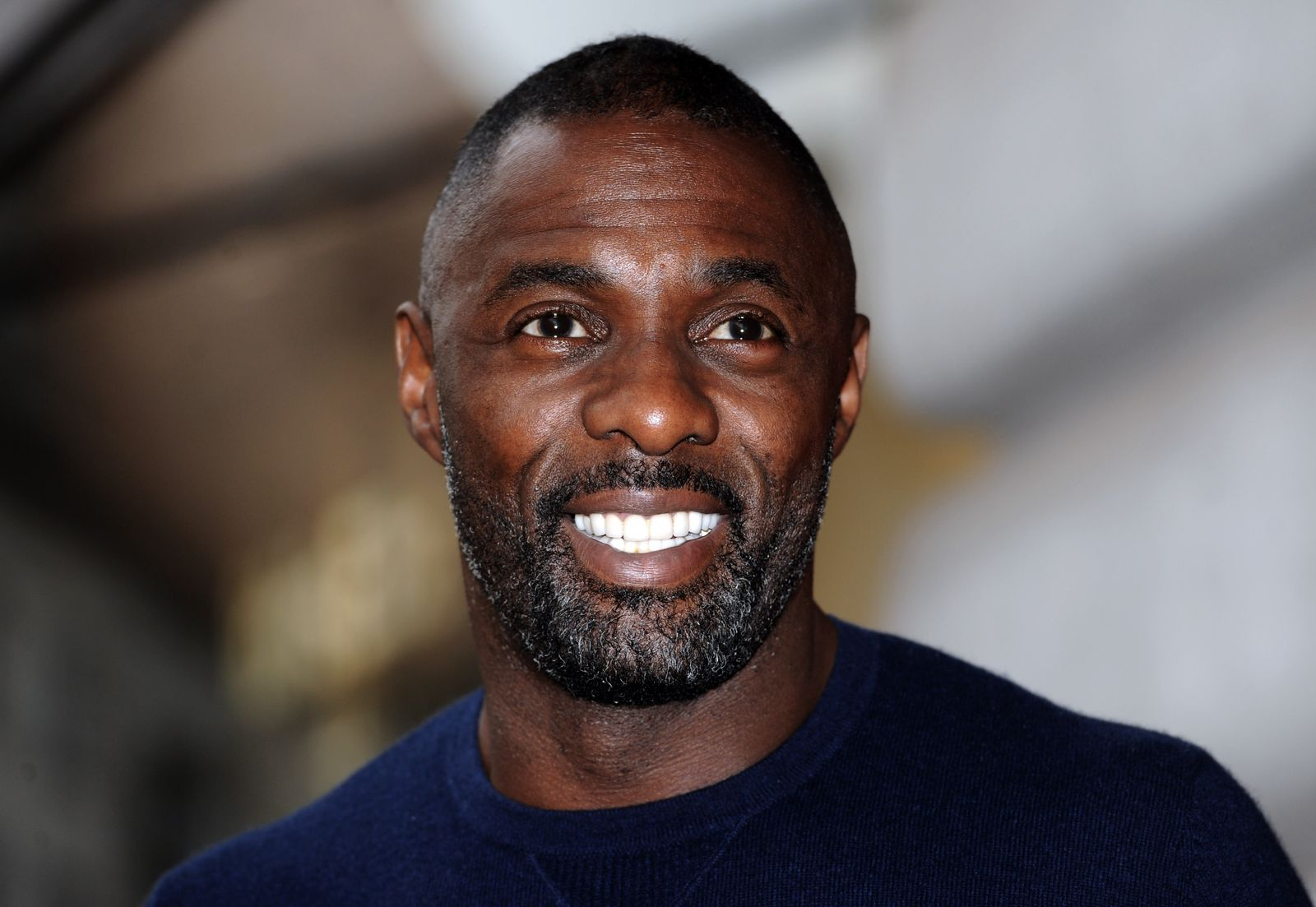 Idris Elba attends a photocall to launch the Superdry AW15 Premium Menswear collection at Superdry International Showroom on November 26, 2015    Photo: Getty Images