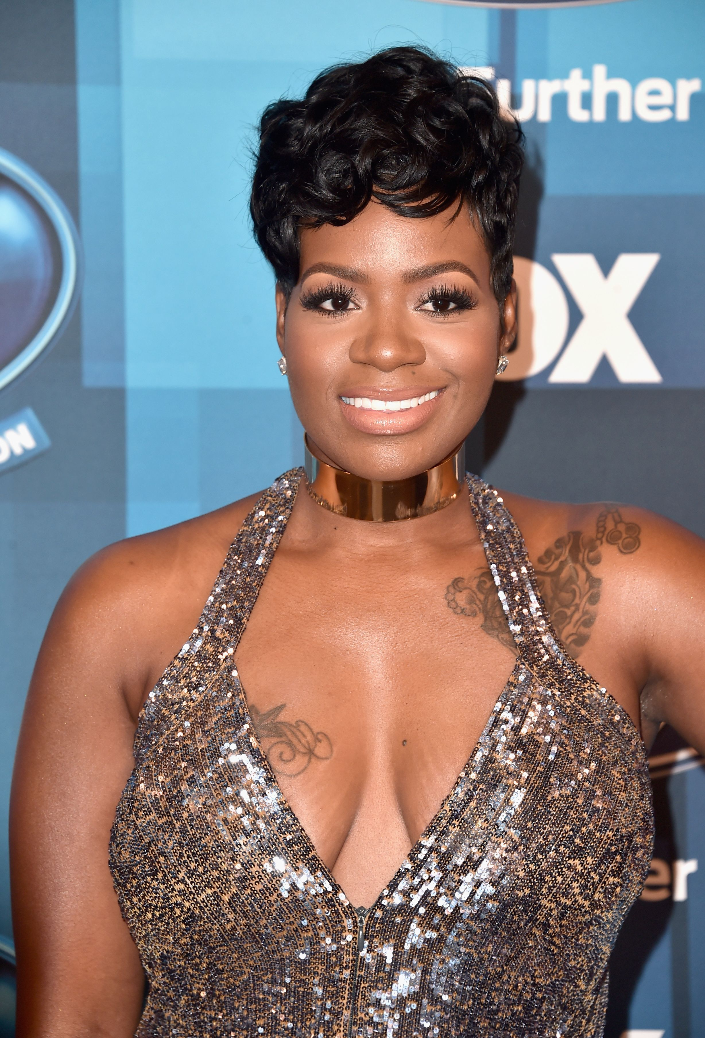 "Fantasia Barrino at the finale for the farewell season of  ""American Idol"" in April  2016. 