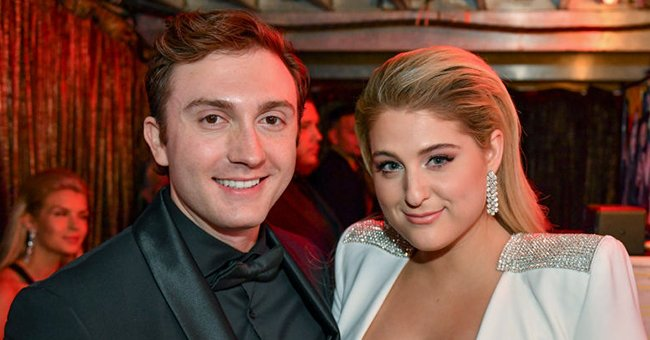 Meghan Trainor and Daryl Sabara at the 61st Annual Grammy Awards, LA, 2019   Photo: Getty Images