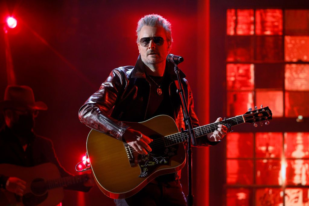 Eric Church performs onstage at the 56th Academy of Country Music Awards at the Ryman Auditorium on April 18, 2021, in Nashville, Tennessee | Photo:Jason Kempin/Getty Images