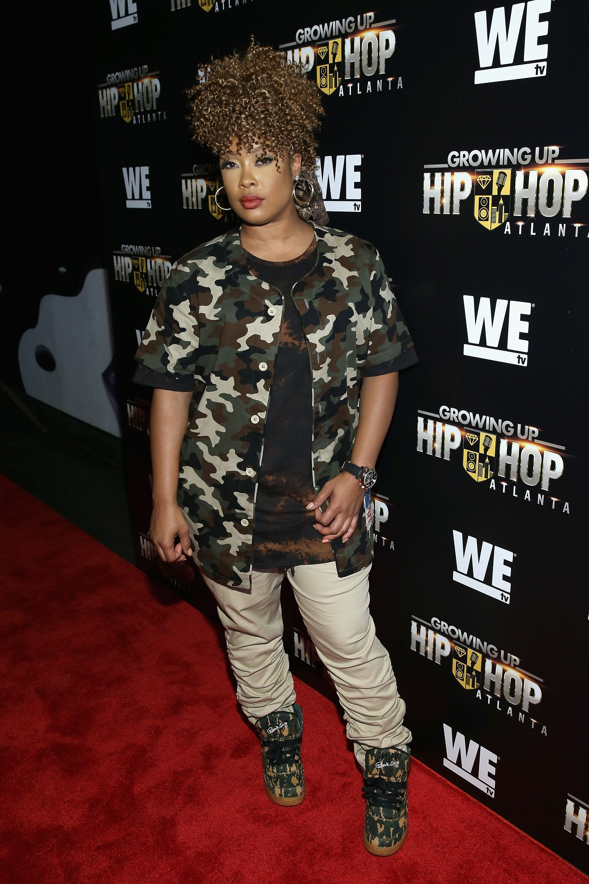 Da Brat attends the WE tv's Growing Up Hip Hop Atlanta premiere screening event on May 16, 2017 in New York City. | Source: Getty Images
