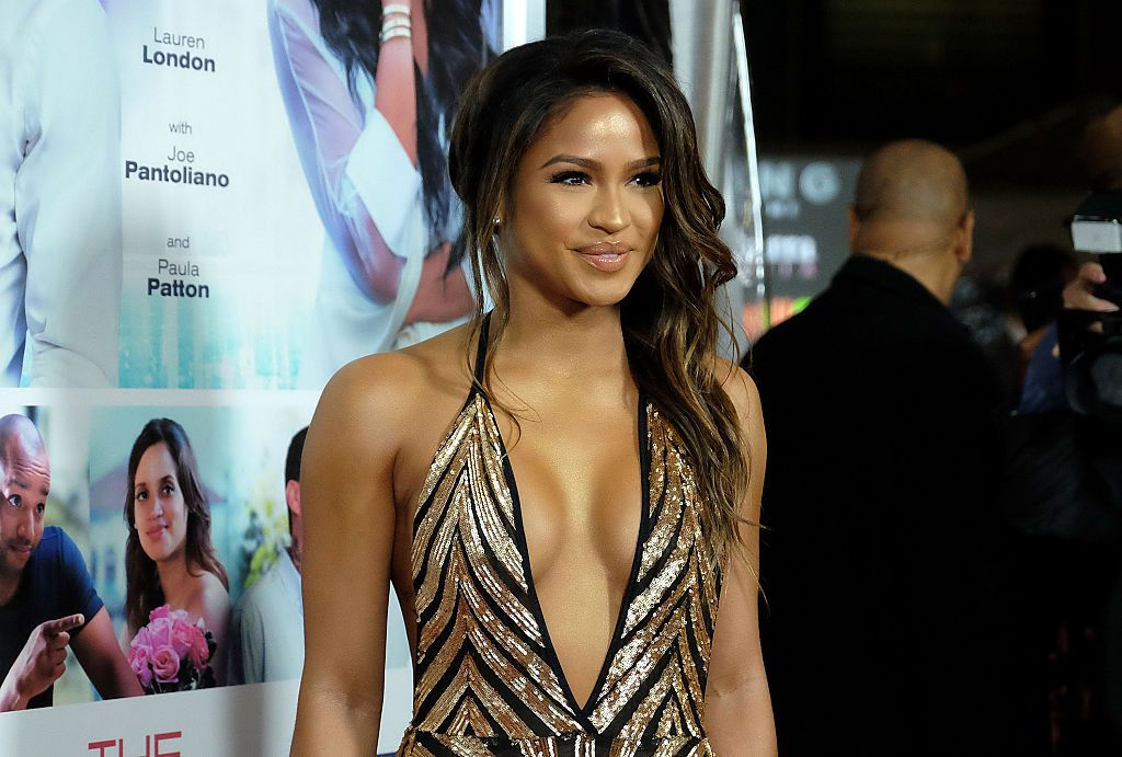 """Actress Cassie Ventura attends the premiere of """"The Perfect Match"""" at ArcLight Hollywood on March 7, 2016. 