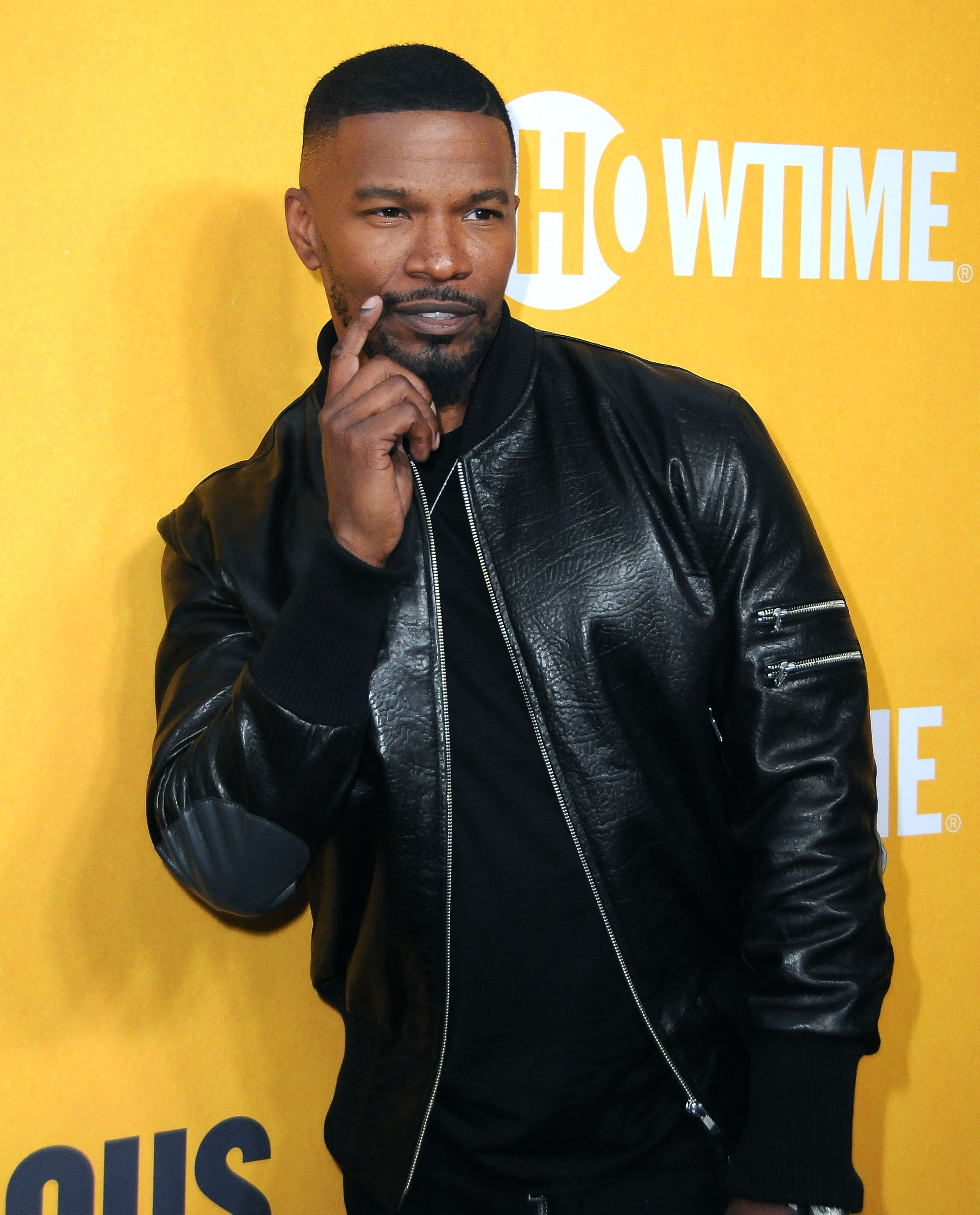 """Jamie Foxx pictured at the premiere of """"White Famous"""" on September 27, 2017 in West Hollywood, California. 